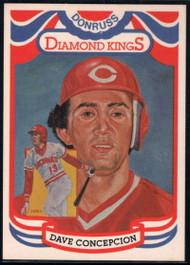 1984 Donruss #2 Dave Concepcion DK COR VG Cincinnati Reds