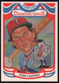 1984 Donruss #4 John Castino DK COR VG Minnesota Twins