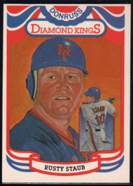 1984 Donruss #6 Rusty Staub DK COR VG New York Mets
