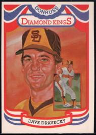 SOLD 33253 1984 Donruss #8 Dave Dravecky DK COR VG San Diego Padres