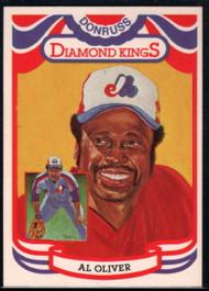 1984 Donruss #9 Al Oliver DK COR VG Montreal Expos