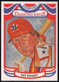 1984 Donruss #12 Ray Knight DK COR VG Houston Astros