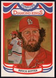 1984 Donruss #13 Bruce Sutter DK COR VG St. Louis Cardinals