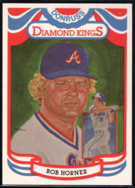 1984 Donruss #14 Bob Horner DK COR VG Atlanta Braves