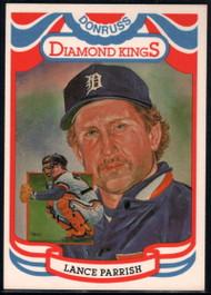 1984 Donruss #15 Lance Parrish DK COR VG Detroit Tigers