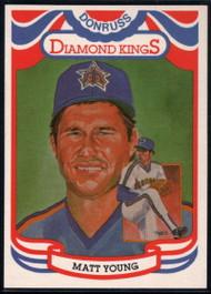 1984 Donruss #16 Matt Young DK COR VG Seattle Mariners