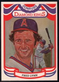 1984 Donruss #17 Fred Lynn DK COR VG California Angels