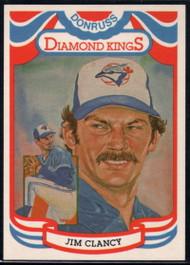 1984 Donruss #19 Jim Clancy DK COR VG Toronto Blue Jays