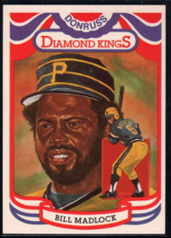 1984 Donruss #20 Bill Madlock DK COR VG Pittsburgh Pirates