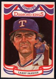 1984 Donruss #21 Larry Parrish DK COR VG Texas Rangers