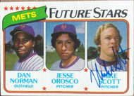 Mike Scott Autographed 1980 Topps #681