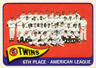 1965 Topps #24 Twins Team VG  Minnesota Twins