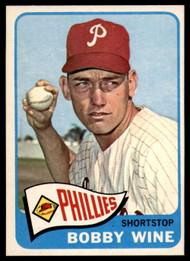 1965 Topps #36 Bobby Wine VG  Philadelphia Phillies