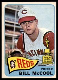 1965 Topps #18 Bill McCool VG  Cincinnati Reds
