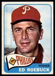 1965 Topps #52 Ed Roebuck VG  Philadelphia Phillies
