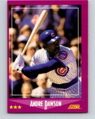 1988 Score #4 Andre Dawson VG Chicago Cubs