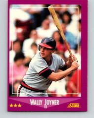 1988 Score #7 Wally Joyner VG California Angels
