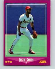 1988 Score #12 Ozzie Smith VG St. Louis Cardinals