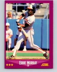 1988 Score #18 Eddie Murray VG Baltimore Orioles