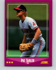 1988 Score #23 Pat Tabler VG Cleveland Indians