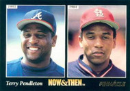 1993 Pinnacle #473 Terry Pendleton NT VG Atlanta Braves/St. Louis Cardinals