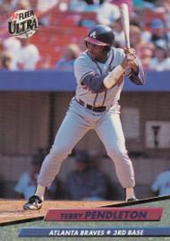 1992 Ultra #167 Terry Pendleton VG Atlanta Braves