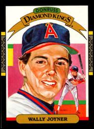 1987 Donruss #1 Wally Joyner DK VG California Angels