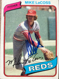 Mike LaCoss Autographed 1980 Topps #159