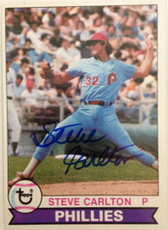 Steve Carlton Autographed 1979 Topps #25