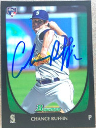 Chance Ruffin Autographed 2011 Bowman Draft Picks & Prospects #105