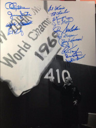1969 World Series Champion Amazin' Mets Autographed 10 x 14 Photo 15 Autographs