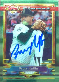 Bruce Ruffin Autographed 1994 Topps Finest #199