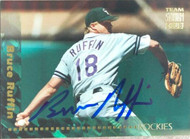 Bruce Ruffin Autographed 1994 Stadium Club Team #101