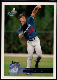 1996 Topps #48 Todd Hollandsworth VG Los Angeles Dodgers