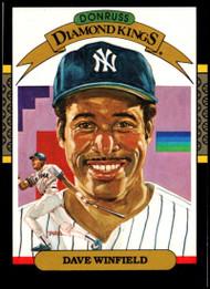 1987 Donruss #20 Dave Winfield DK VG New York Yankees