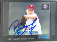 Brett Myers Autographed 2000 Bowman Retro/Future #381