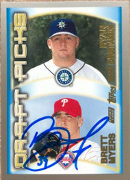 Brett Myers Autographed 2000 Topps #213 Rookie Card