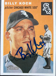 Billy Koch Autographed 2003 Topps Heritage #390