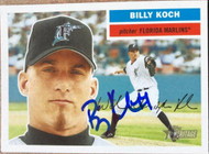 Billy Koch Autographed 2005 Topps Heritage #315