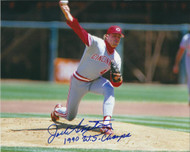 Jack Armstrong Autographed Reds 8 x 10 Photo 3