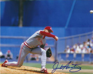 Jack Armstrong Autographed Reds 8 x 10 Photo 4