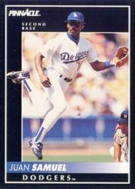 1992 Pinnacle #99 Juan Samuel VG Los Angeles Dodgers
