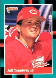 1988 Donruss Rookies #17 Jeff Treadway VG Cincinnati Reds