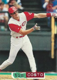 1994 Stadium Club #119 Tim Costo VG Cincinnati Reds