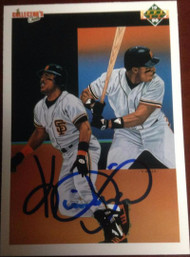Kevin Mitchell Autographed 1990 Upper Deck #40