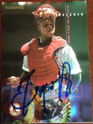 Terry McGriff Autographed 1995 Fleer #503