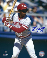 Terry McGriff Autographed Cincinnati Reds 8 x 10 Photo