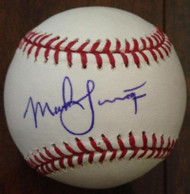 SOLD 3714 Mark Langston Autographed ROMLB Baseball