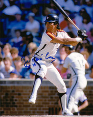 Jose Cruz Autographed Astros 8 x 10  Photo 1