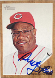 Dusty Baker Autographed 2011 Topps Heritage #172